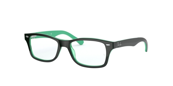 RAY-BAN JUNIOR RY1531 TOP OPAL GREEN/TRANSP GREEN