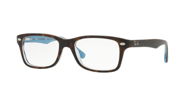 RAY-BAN JUNIOR RY1531 TOP HAVANA ON HAVANA BLUE