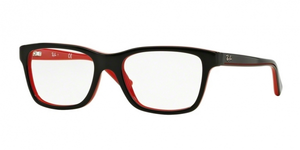 RAY-BAN JUNIOR RY1536 TOP BLACK ON RED