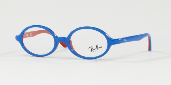 RAY-BAN JUNIOR RY1545 BLU ON RUBBER RED