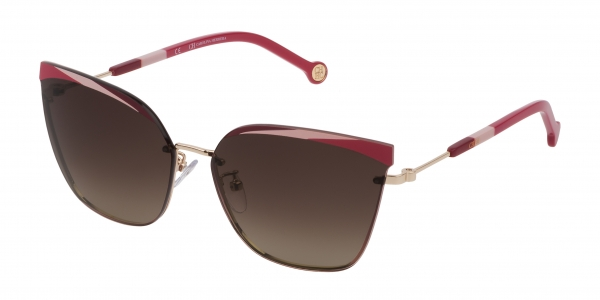CAROLINA HERRERA SHE147 BROWN GRADIENT