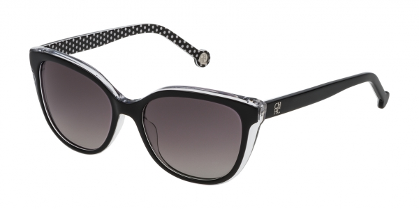 CAROLINA HERRERA SHE694 BLACK / GREY GRADIENT