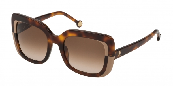 CAROLINA HERRERA SHE786 SHINY DARK HAVANA