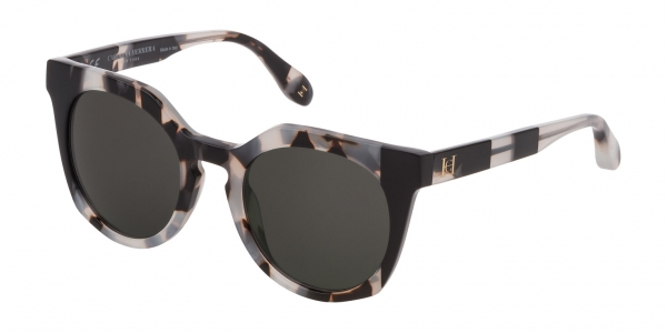 CAROLINA HERRERA NEW YORK SHN595 HAVANA WHITE/BLACK