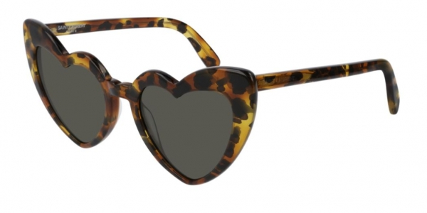 SAINT LAURENT SL 181 LOULOU SHINY DEDICATED BROWN LEOPARD