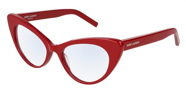 SAINT LAURENT SL 217 SHINY RED