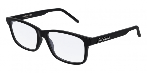 SAINT LAURENT SL 319 BLACK-BLACK-TRANSPARENT