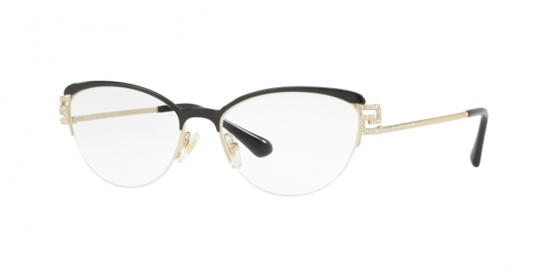 VERSACE VE1239B BLACK/PALE GOLD