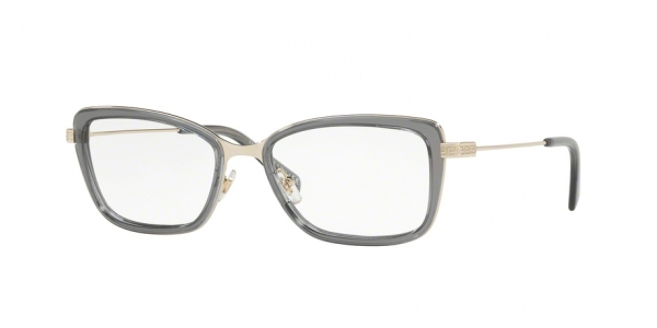 VERSACE VE1243 PALE GOLD/GREY TRANSPARENT