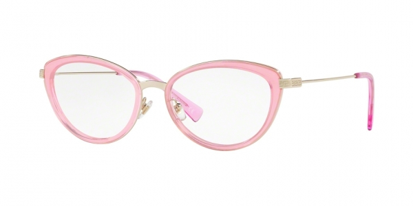 VERSACE VE1244 PALE GOLD/PINK TRANSP