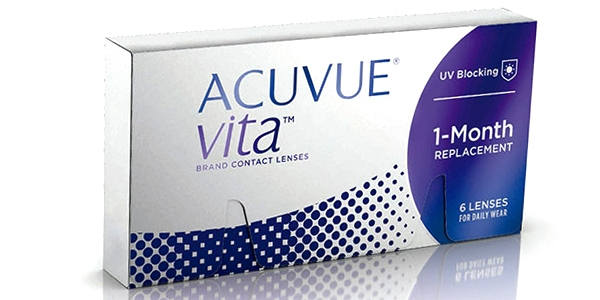JOHNSON & JOHNSON ACUVUE VITA 6