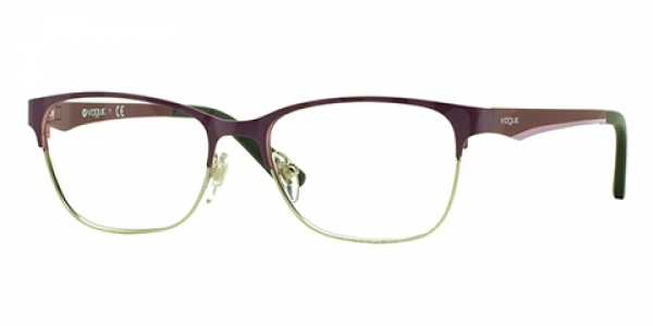 VOGUE VO3940 BRUSHED PLUM/SILVER