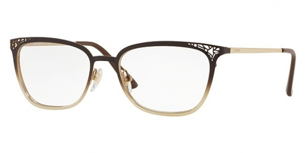 VOGUE EYEWEAR VO4103 TOP BROWN GRAD ON PALE GOLD