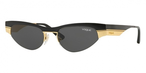 VOGUE EYEWEAR VO4105S MATTE BLACK/BRUSHED GOLD