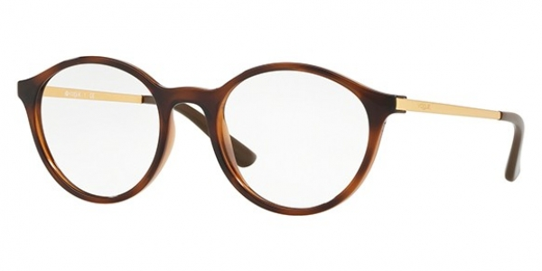 VOGUE EYEWEAR VO5223 TOP HAVANA/TRANSP LIGHT BROWN