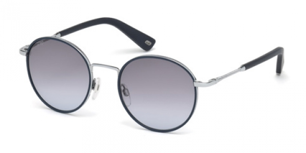 WEB EYEWEAR WE0167 SHINE SILVER / BLUE GRADIENT